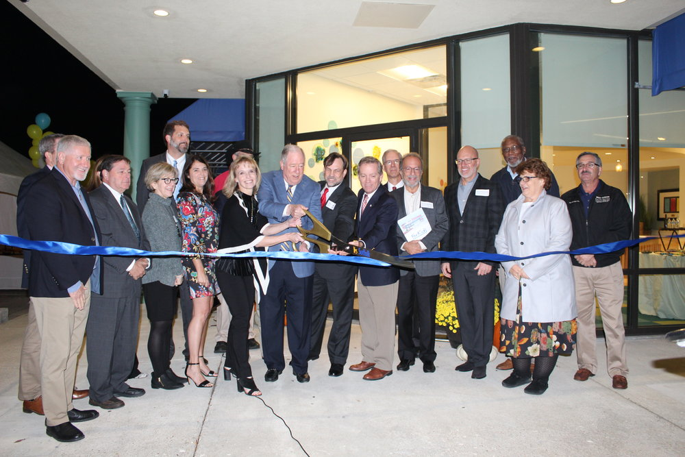 November 8th, 2018 - Ribbon Cutting for the completed Birdsong Center for Families Suffolk Regional Headquarters