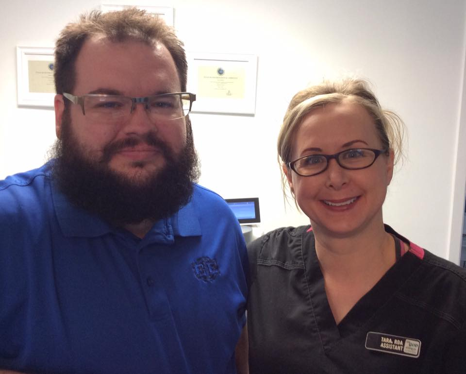 Josh and Tara (dental assistant)