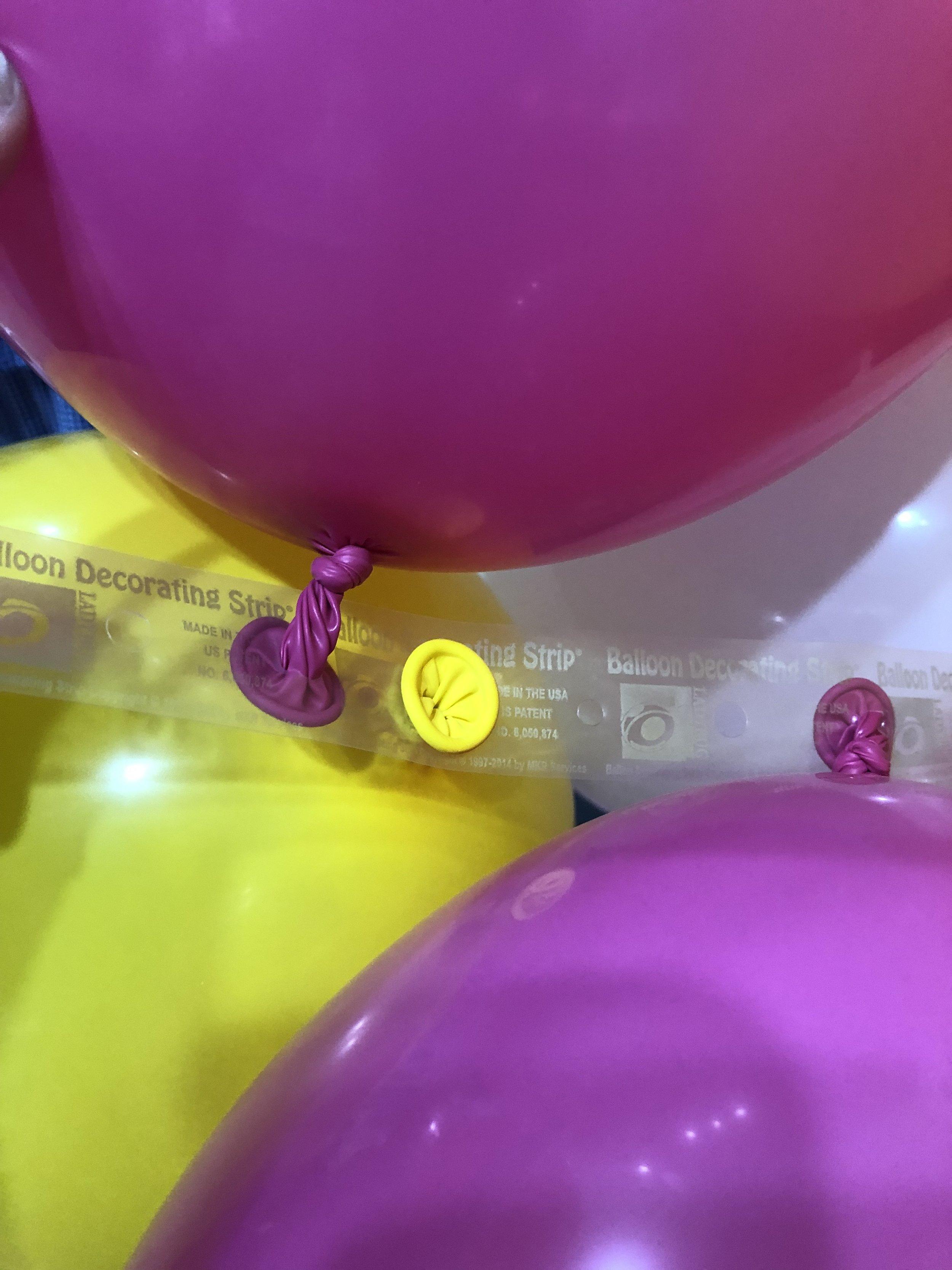 balloon tape for DIY balloon garland