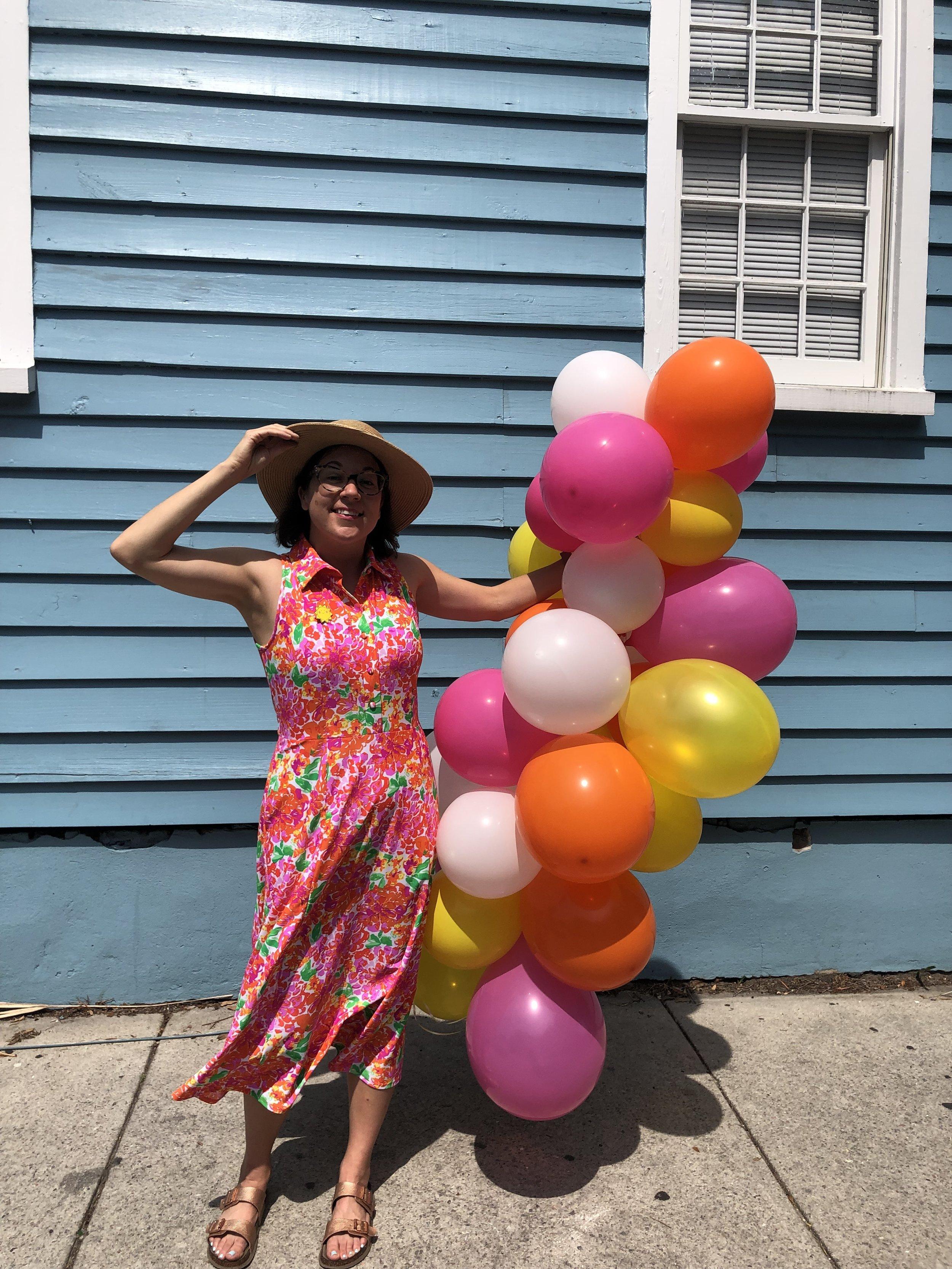 easy balloon garland tutorial