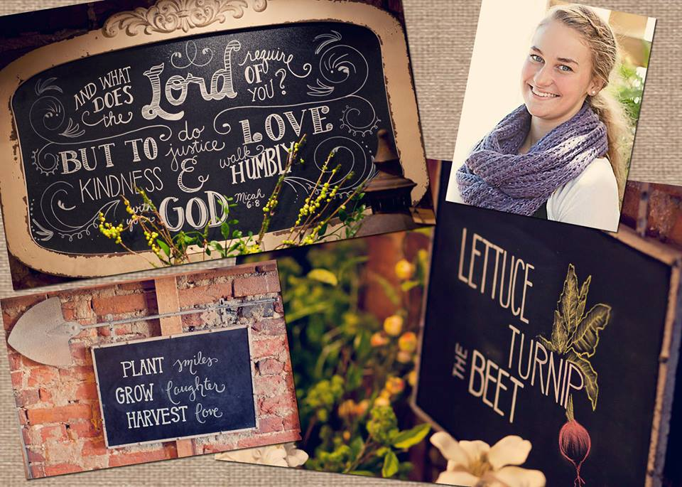 meet lydia - Our calligraphy creative, Lydia can do it all! From welcome signs to table numbers calligraphy art adds that extra touch of beauty and romance. Bring in your own pieces for her to create on or rent one of ours to add that extra thoughtful touch to your day.