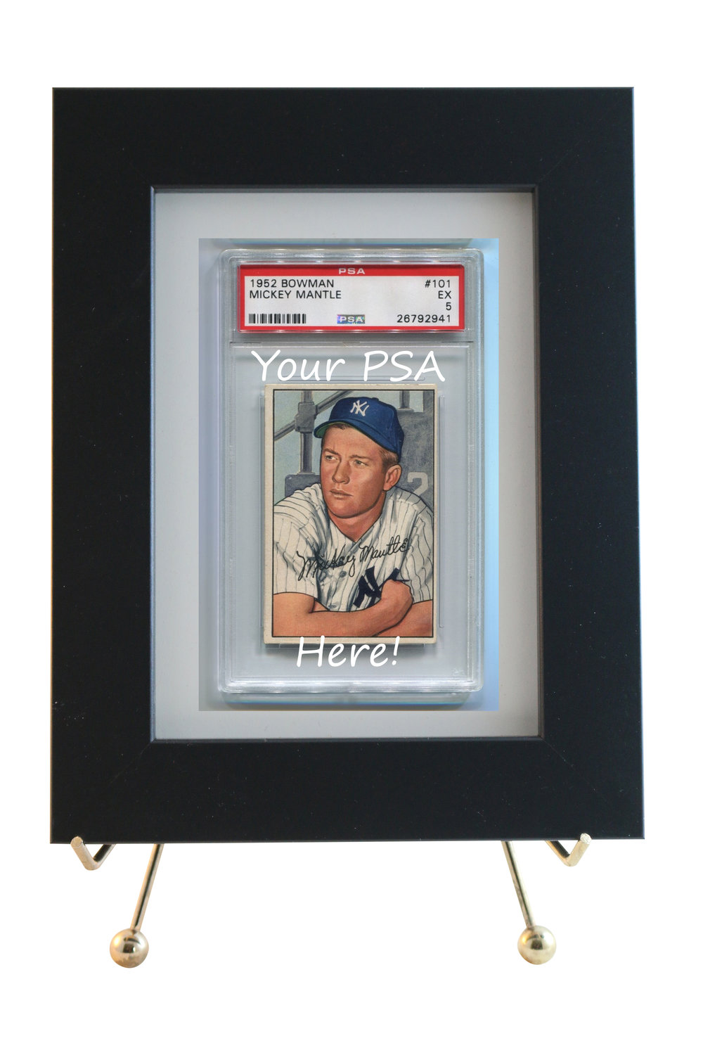 PSA GRADED CARD FRAMED DISPLAYS                     STARTING   AT ONLY $38.95                    VERTICAL OR HORIZONTAL
