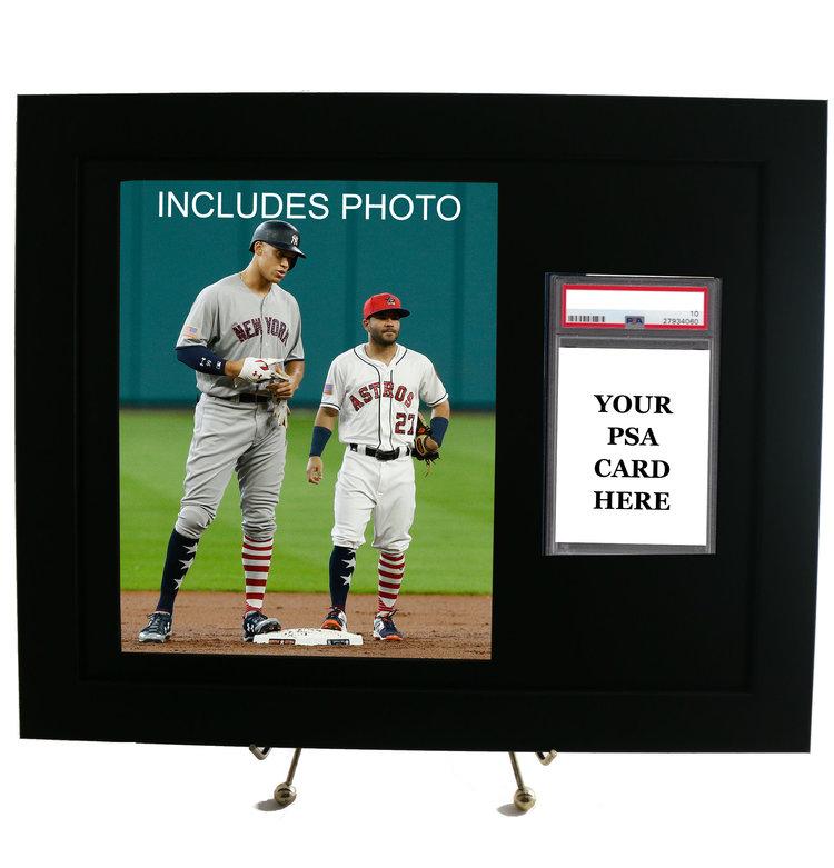 Framed Displays with 8x10 Photos — PSAFRAMES.COM
