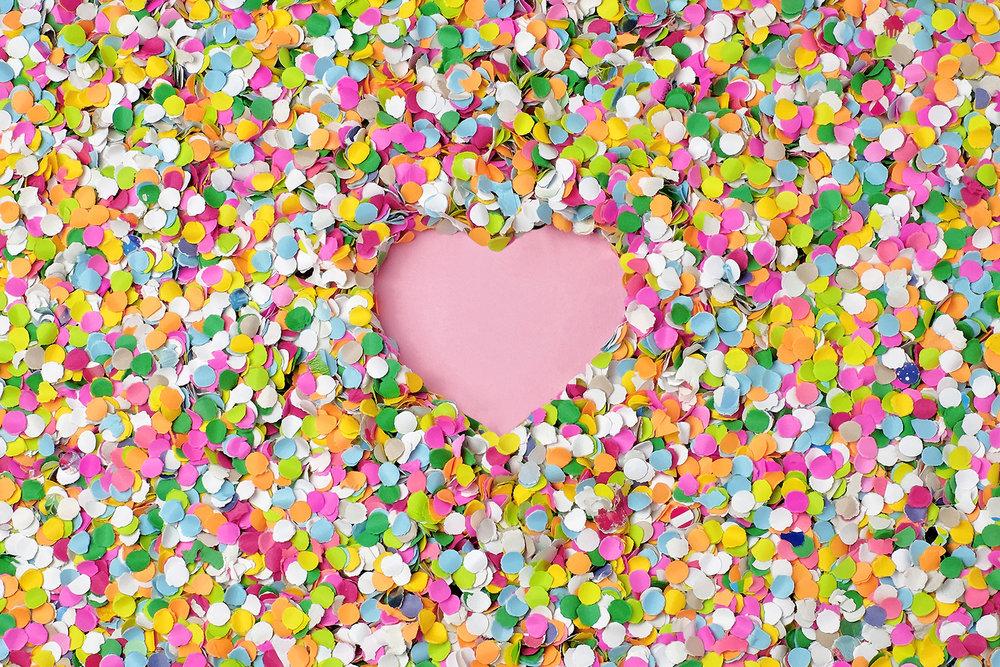 I love confetti
