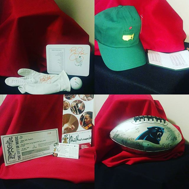 Just a few items we will be raffling off. Go to our website to donate 5.00 per chance!