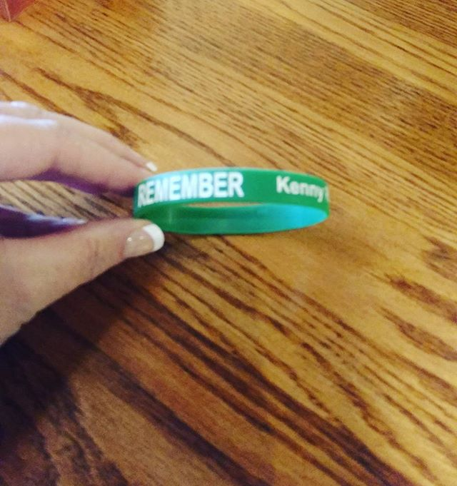 Our constant reminder!  Remember, stay alive while you drive. Remember Kenny. #inourmemory #stayalivewhileyoudrive
