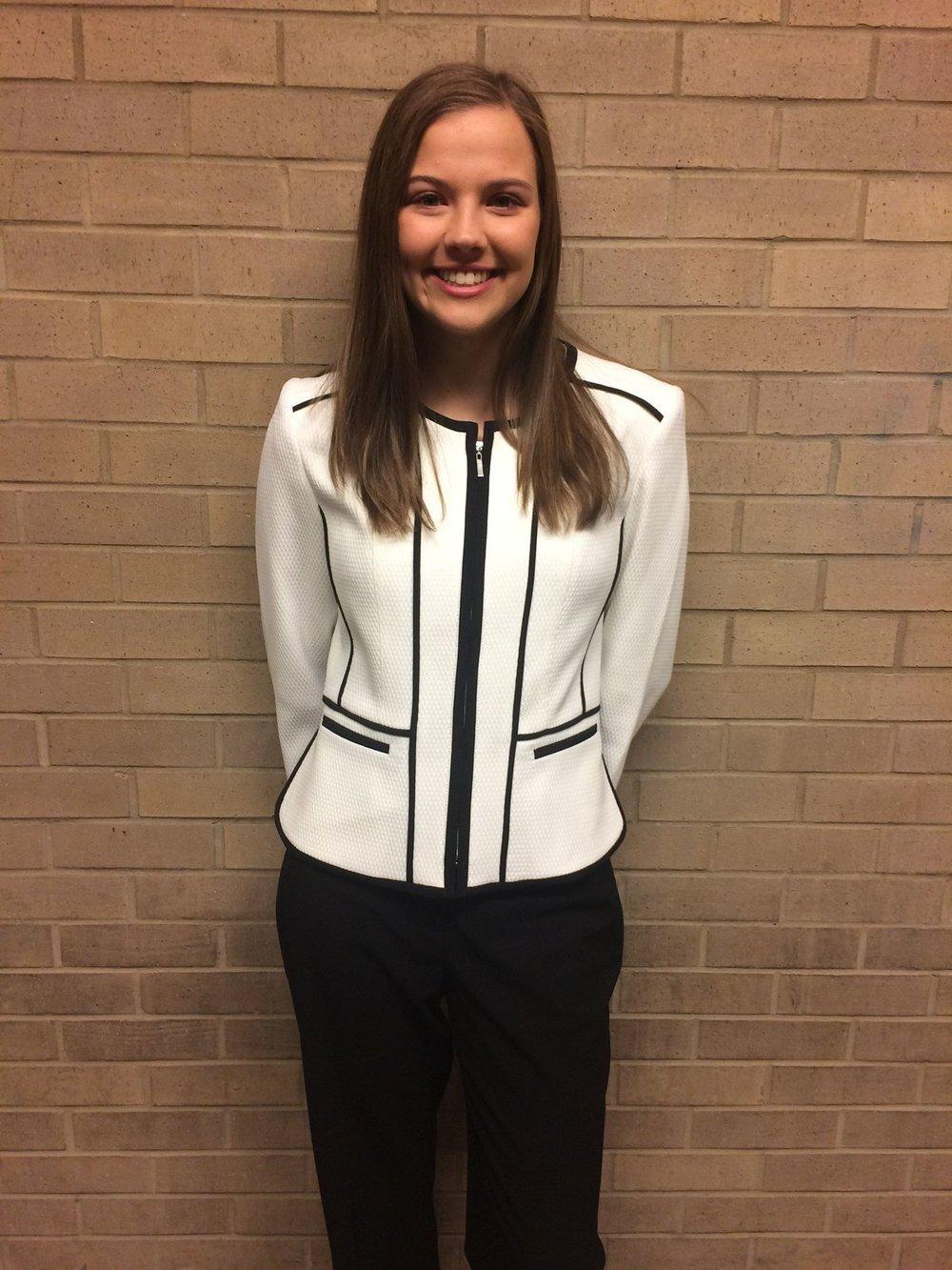 Courtney Schrater    Secretary