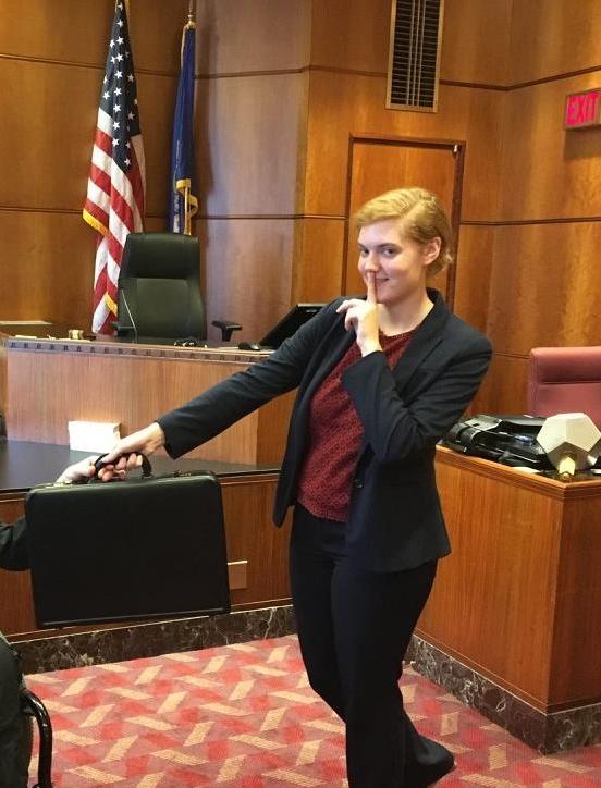 Hannah Johnson  Treasurer