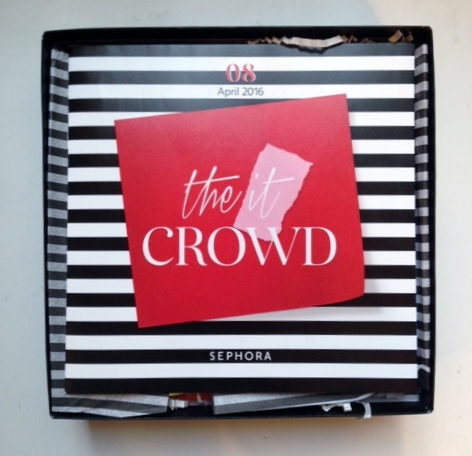 For my first ever Play! By Sephora Beauty Box I received the following products: