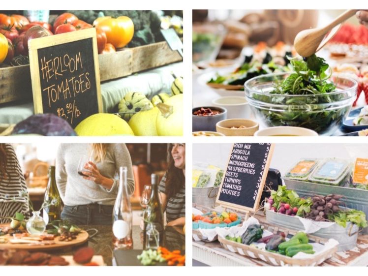 enroll in a whole-food plant-based creativity retreat - Take your plant-based cooking to the next level by cooking fresh, local, seasonal, meals side-by-side with a professional wfpb chef and an intimate group of soon-to-be friends.