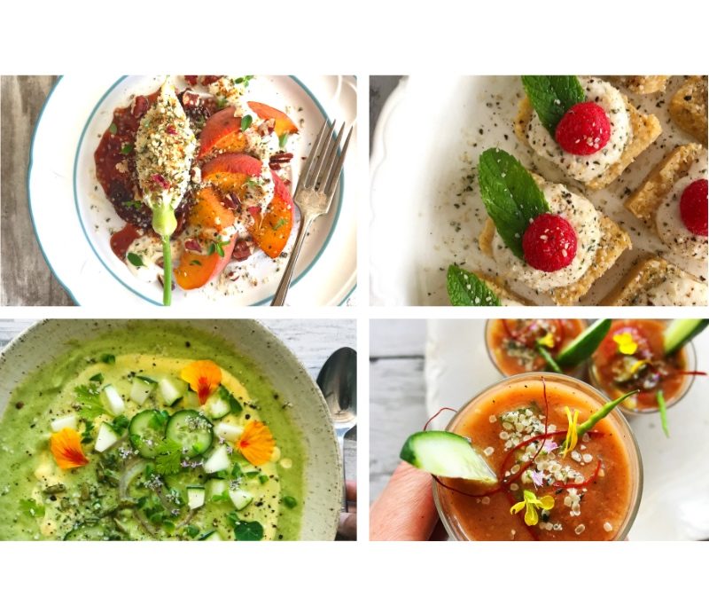 book your very own private whole-food plant-based dinner party! - Want to experience an elevated whole-food, plant-based feast prepared by a professional chef who specializes in elevated wfpb cuisine?