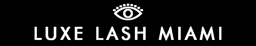 luxe lash miami logo