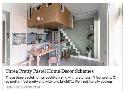 Home Designing - Pastel Home