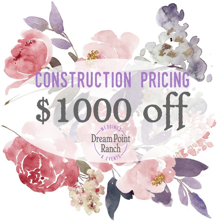 Dream Point Ranch Construction Pricing