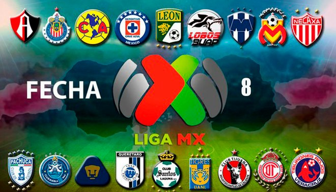 Liga Bancomer Mx Soccer Apertura Week 8 Recap