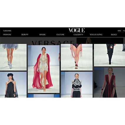 VOGUE - MAY 2017  Mercedbes-Benz Fashion Week coverage