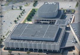 Berglund Center Roof