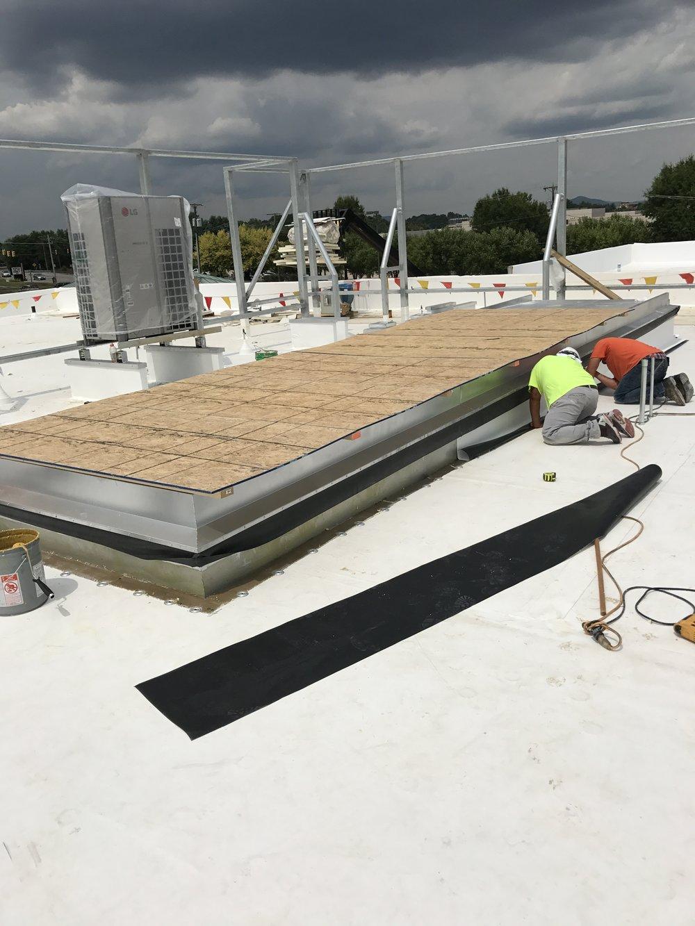 TPO Roof  Roanoke,VA