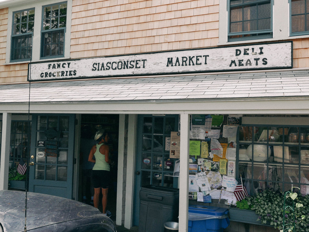 Siasconset Market - Stop in for a cold brew and some local goods. The people at Siasconset Market are super sweet and will help you locate the perfect item. I would say the market is definitely a gem in the town of Siasconset, which is about a 10-15 minute drive from Main Street.