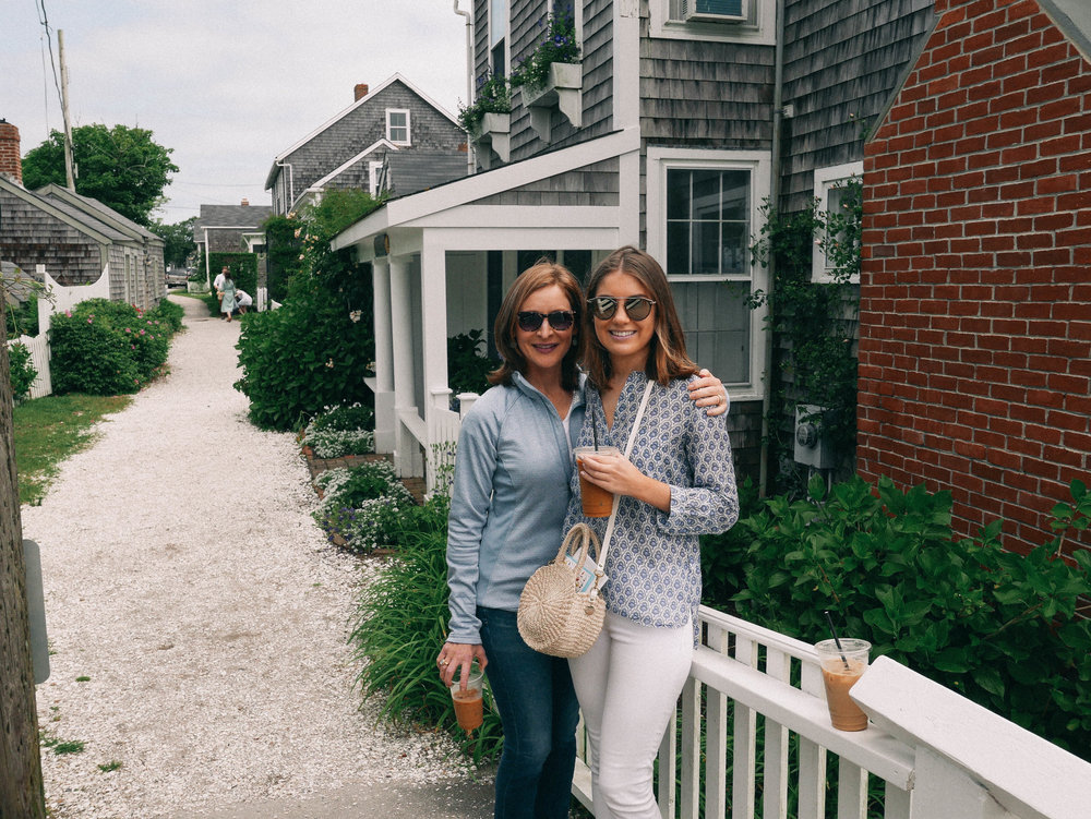 explore siasconset - There are some beautiful historic homes in this area. Plus, you'll find a CJ Laing, the bluff walk, and Claudette's for a perfect lunch spot. Be sure to bring along your camera!