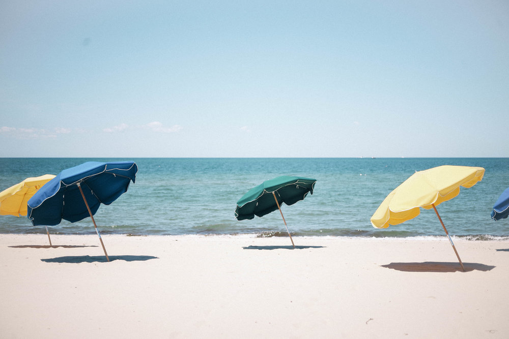 take a stroll on galley beach - Located right outside Galley Beach restaurant is one of the prettiest beaches with it's bright umbrellas. Be warned however, there are private beaches on both sides of the resturant, so don't venture off too far.