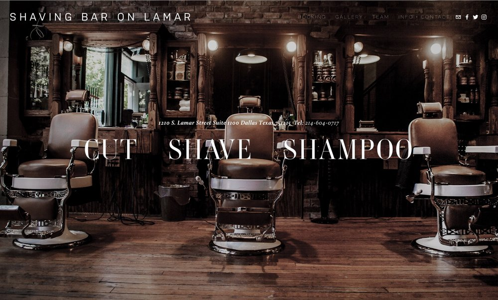 Shaving Bar On Lamar