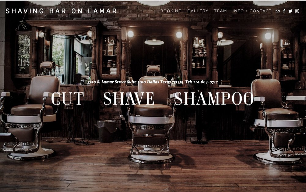 Shaving Bar On Lamar