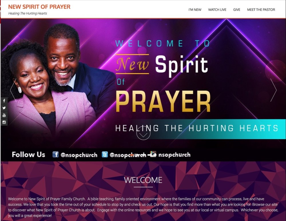 New Spirit Of Prayer