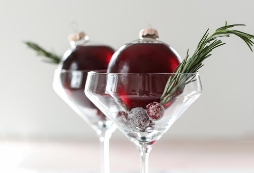 Holiday Cocktail Menu - Whether it's in the boardroom or with family and friends, celebrate the holiday season with a cocktail party.