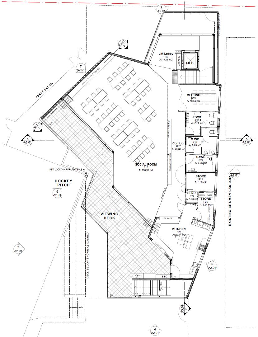 Upper Level Plans