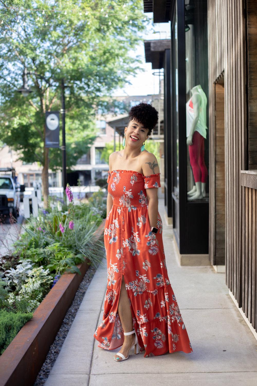 Style Blogger Maxi Dress
