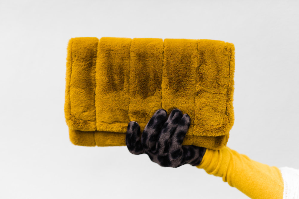 Furry Clutch with Leopard Print gloves.jpg