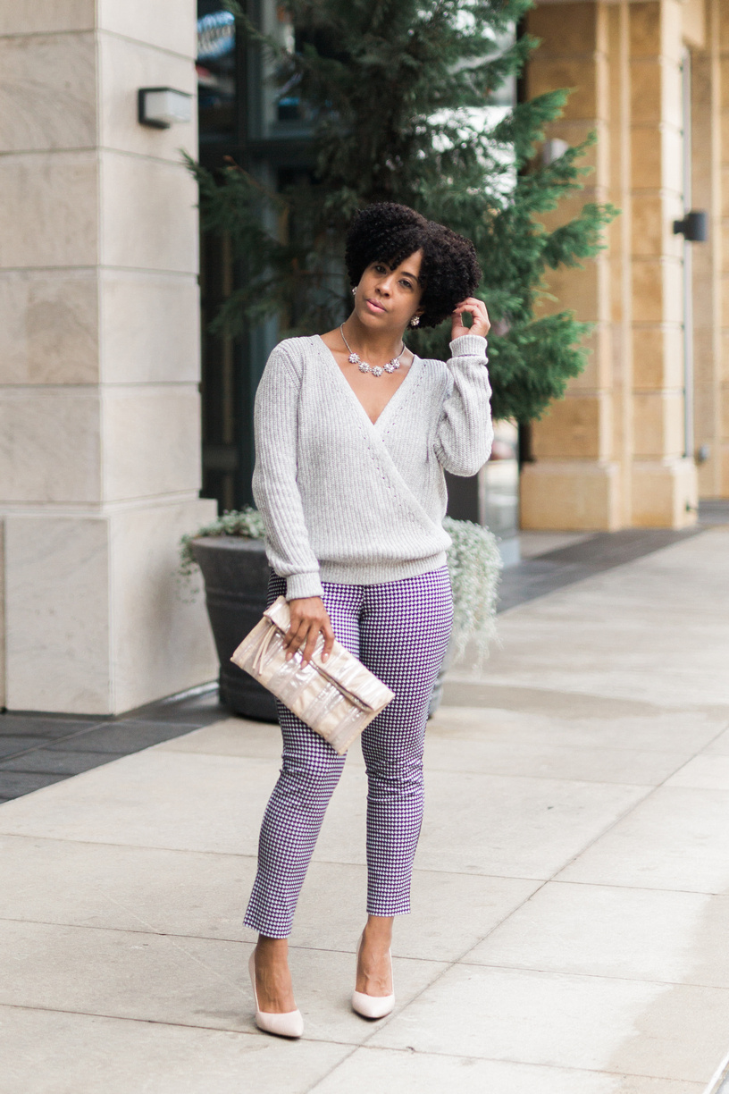 Abercrombie & Fitch Wrap Sweater and Pixie Pants.jpg