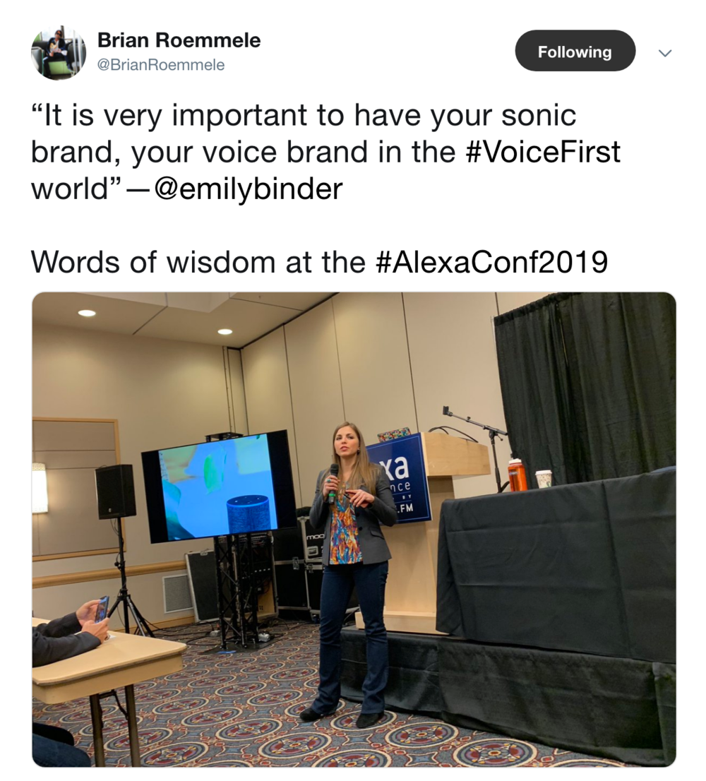 brian-roemmele-tweet-emily-binder-alexa-conference-voice.png