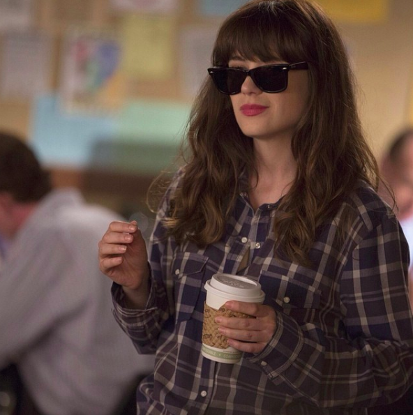 Too cool for school? Not when you're on staff. #TeachersLounge #NewGirl @NewGirlOnFox Instagram