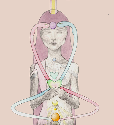CHAKRAS- 101 - Some believe there are sixteen, others report there are nine, but most agree that there are seven main chakras. They exist where the seven types of tissue converge. Each is associated with a gland and section of the spine that run along our centers, both on the front and back sides of our bodies.Chakras govern varying areas of our lives — such as abundance, Love, creativity, confidence, etc — and when we experience imbalance, you can be sure that there is an energetic discord in the associated chakra. Each center also resonates with a color frequency, which can be used to heal those said imbalances. There are also smaller secondary chakras, subtle body chakras, and even micro chakras. Let us begin with the basics......From the works of Christine Machiraju