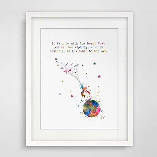 Little Prince Art Print Nursery Decor