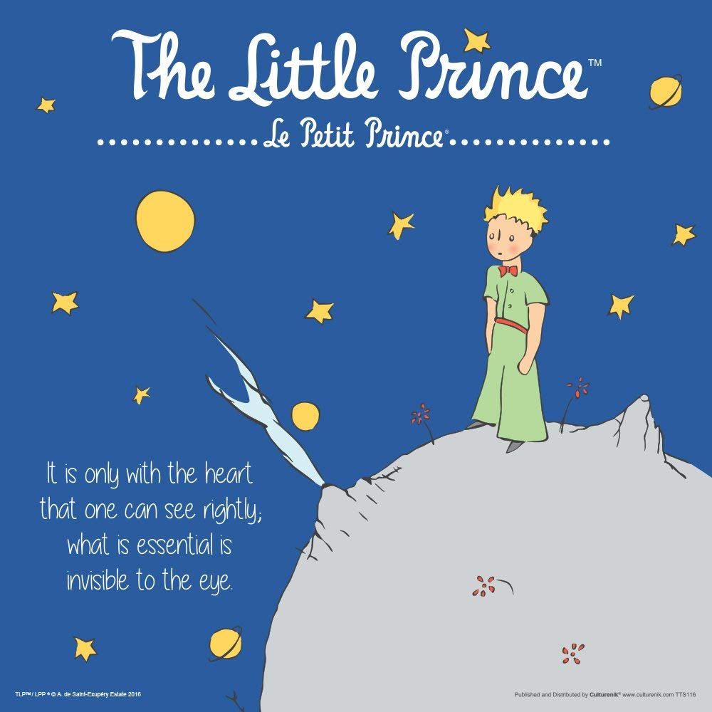 The Little Prince Book Cover Quote