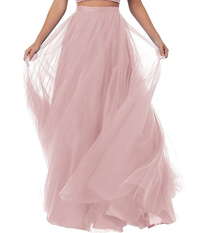 Long Prom Tutu Skirt