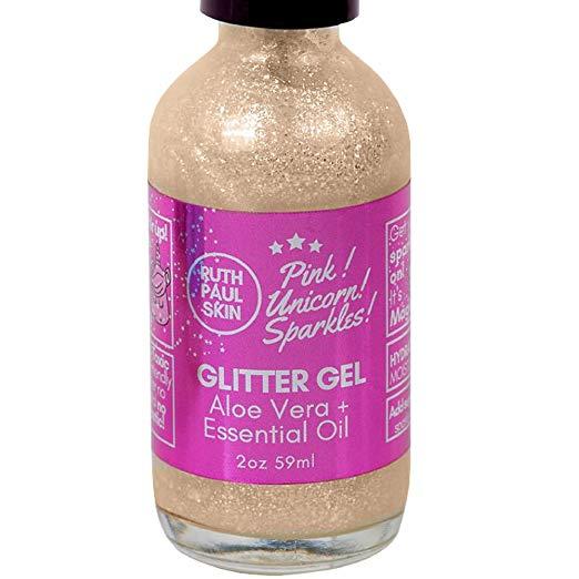 Glitter + Aloe Vera