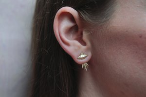 Tender Abduction UFO Earring