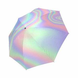 Iridescent Foldable Umbrella