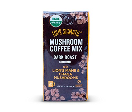 Four Sigmatic Mushroom Ground Coffee: Dark Roast