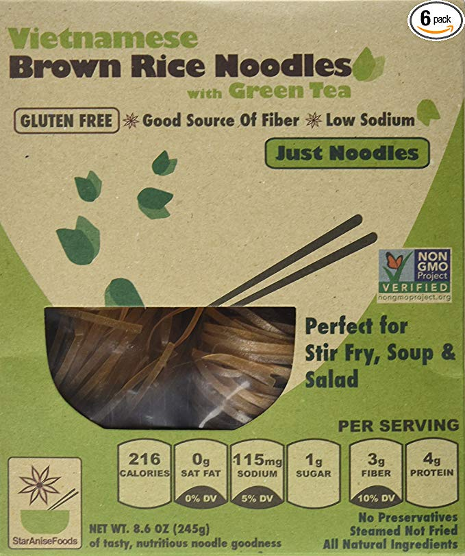 Vietnamese Brown Rice Noodles
