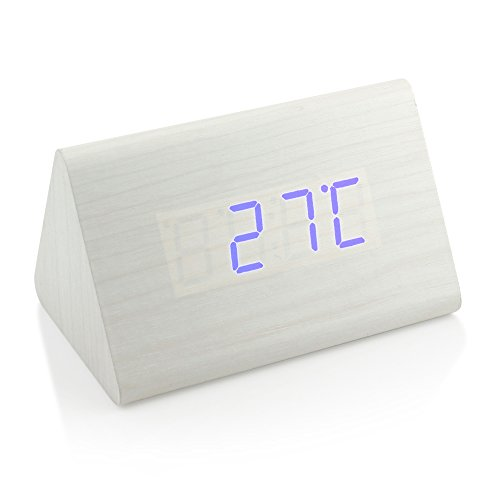 LED Wooden Digital Clock