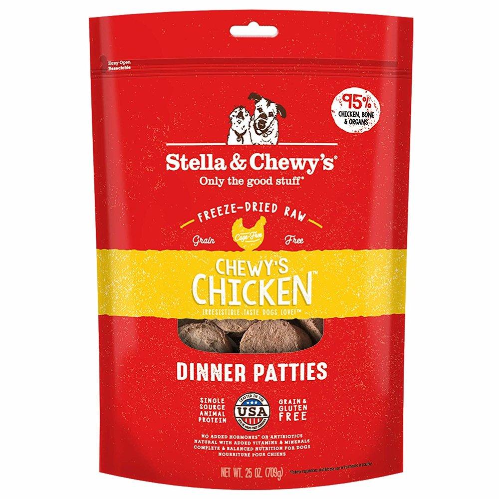 Chicken Dinner Patties