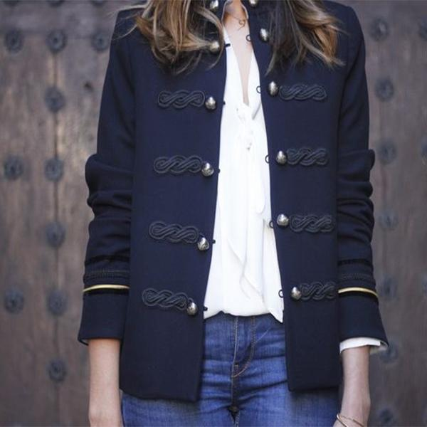 Fashion Button Small Suit