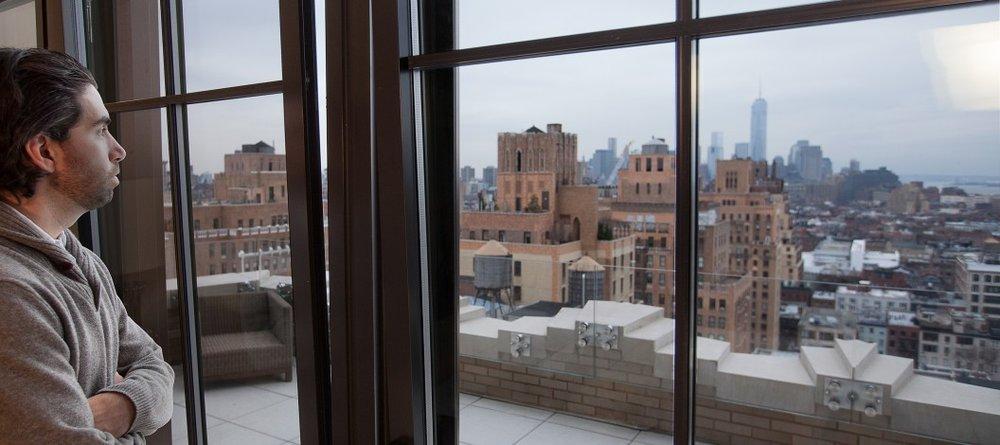 11:03 AM. 145 East 84th - Through a Skyline Series 1200 Tilt and Turn Crank Window