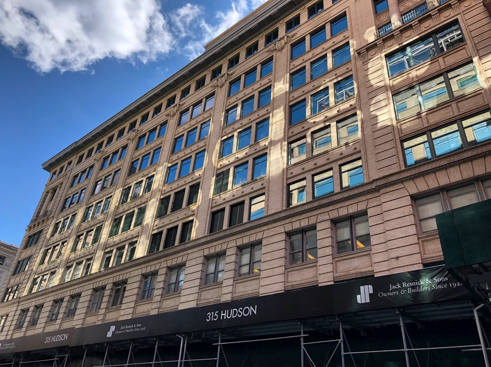 """Upgrade at 315 Hudson - February 5, 2019315 Hudson has recently been upgraded to a """"state of the art Class-A office building to meet the needs of today and tomorrow's burgeoning technology, advertising, media and creative companies"""", stated by owner and builder Jack Resnick & Sons. As part of the redevelopment, Skyline Windows manufactured and installed our Series 500 Casements.Click the photo to learn more.{ Via resnicknyc.com }"""