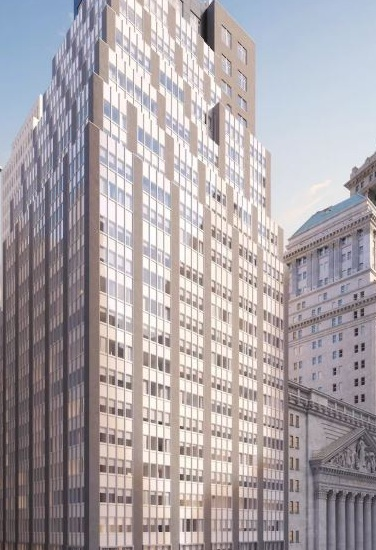 """Tour 20 Broad - January 3, 2019""""Featured on FieldCondition.com: tour CentraRuddy's 20 Broad office to residential conversion in the Financial District.""""For this conversion project, Skyline Windows manufactured and installed our Series 500 Casements.Click the photo to learn more.{ Via FieldCondition.com }"""